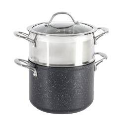 Professional Granite Steamer Set - 20cm / 1 tier