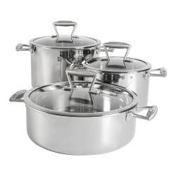 Elite Tri-ply Casserole Set - 3 Piece