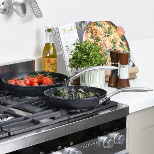 Professional Granite Frying Pan Set 24 and 28cm