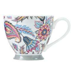 ProCook Footed Mug - Bright Paisley
