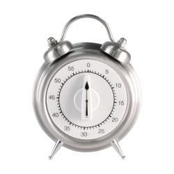 ProCook Mechanical Timer - Stainless Steel Alarm Clock