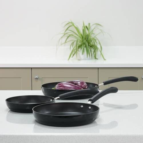 Gourmet Non Stick Frying Pan Set 3 Piece Procook Gourmet