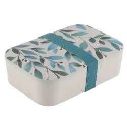 Life's a Beach Bamboo Lunchbox - Leaves
