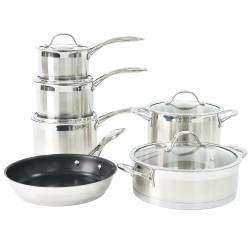 ProCook Professional Steel Cookware Set - 6 Piece