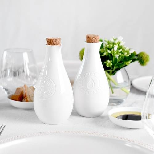 ProCook Oil and Vinegar Drizzler set Porcelain
