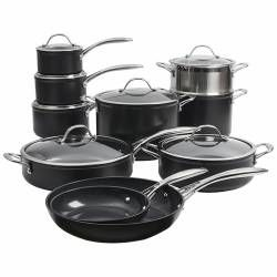 ProCook Professional Ceramic Cookware Set - 10 Piece
