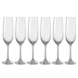 Dartington Crystal Champagne Flute - Set of 6 190ml