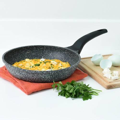 ProCook Granite Stone Non-Stick Frying Pan 24cm