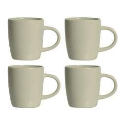 Stockholm Ivory Stoneware Mug - Set of 4 - 340ml