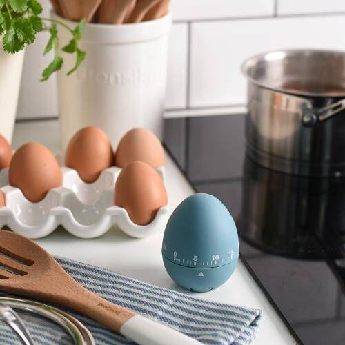 ProCook Mechanical Timer Duck Egg Blue