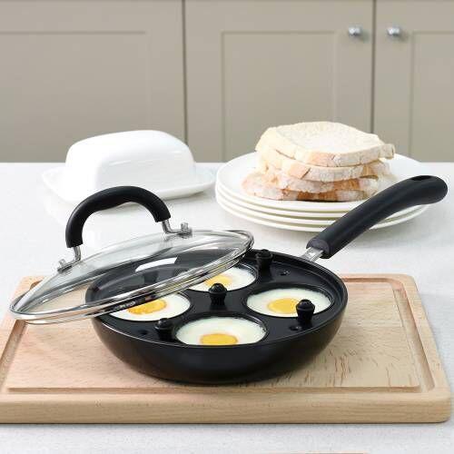Gourmet Non-Stick Egg Poacher 4 Cups