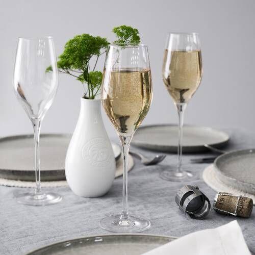 St. Tropez Champagne Glass Set of 4 - 230ml