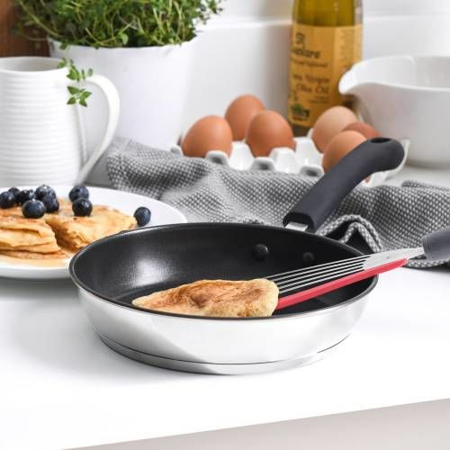 Gourmet Stainless Steel Frying Pan 20cm