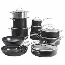 ProCook Professional Ceramic Cookware Set - 12 Piece