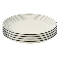 ProCook Salcombe Stoneware - 27cm Dinner Plate - Set of 4