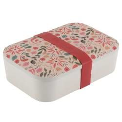 Life's a Beach Bamboo Lunchbox - Flowers