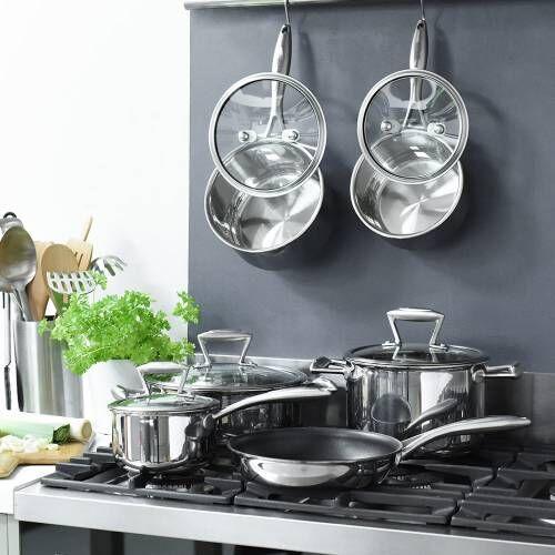 Elite Tri-ply Cookware Set 6 Piece