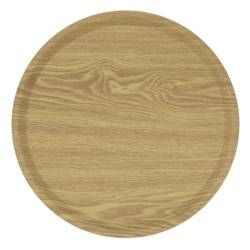 ProCook Round Serving Tray - Light Wood 39cm