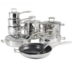 Elite Tri-ply Cookware Set - 10 Piece