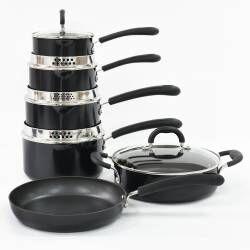 Gourmet Non-Stick Cookware Set - 6 Piece