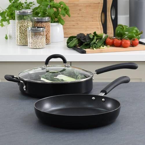 Gourmet Non-Stick Saute and Frying Pan Set 2 Piece