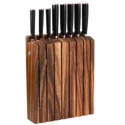 Damascus 67 Knife Set - 8 Piece with Wooden Block