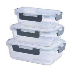 ProCook Glass Ovenware Airtight Storage Set - 3 Piece
