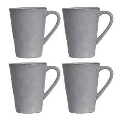 Malmo Dove Grey Mug - Set of 4 - 420ml