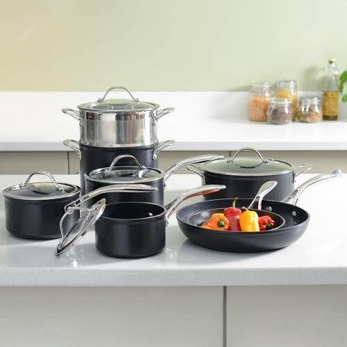 Professional Ceramic Cookware Set 8 Piece