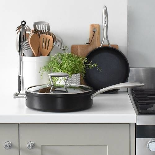 Elite Forged Saute and Frying Pan Set 2 Piece