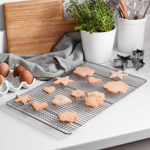 ProCook Stainless Steel Cooling Rack 40x25.5cm
