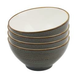 Napa Porcelain Cereal Bowl - Set of 4 - 15cm