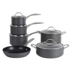 Professional Anodised Cookware Set - 6 Piece