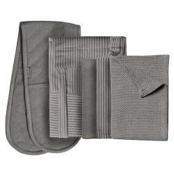 ProCook Kitchen Linen 3 Piece Set - Grey
