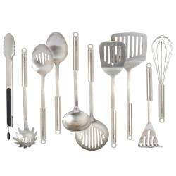 ProCook Stainless Steel Utensils - 10 Piece Set