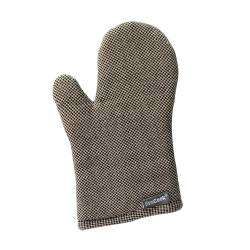 ProCook Single Oven Glove - Black and Biscuit Check
