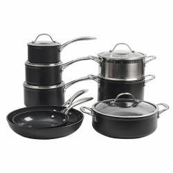 ProCook Professional Ceramic Cookware Set - 8 Piece