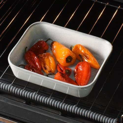 ProCook Stoneware Oven Dish 21cm x 17cm Reactive Grey