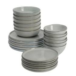 ProCook Oslo Stoneware Dinner Set - 24 Piece - 6 Settings
