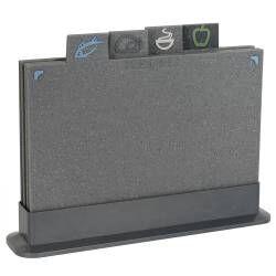 ProCook Chopping Board Set - 29x20cm Granite Effect