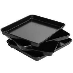 ProCook Non-Stick Baking Tray Set - 4 Piece 31 x 23cm