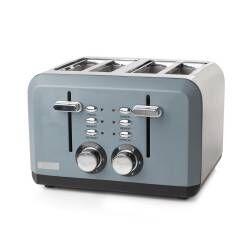 Haden Perth 4 Slice Toaster - Slate Grey