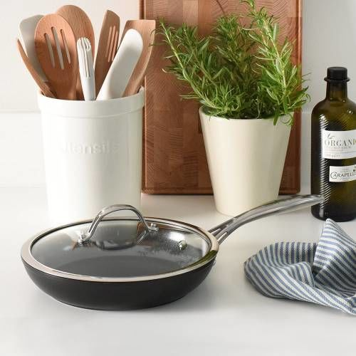 Professional Ceramic Frying Pan with Lid 24cm