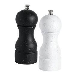 ProCook Mixed Granite Effect Salt or Pepper Mill Set - 15cm