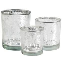 ProCook Candle Holder Silver Set - 3 Piece