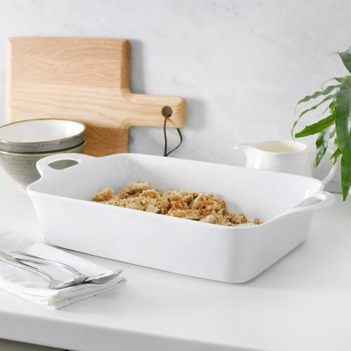 ProCook Porcelain Oven Dish 42.5cm x 23.5cm White