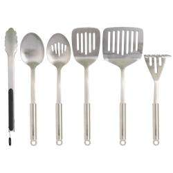 ProCook Stainless Steel Utensils - 6 Piece Set