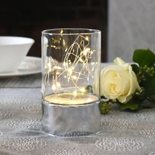 ProCook LED Table Fairy Light Silver Tube