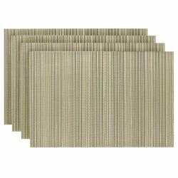 ProCook Rectangular Placemats - Set of 4 - Gold