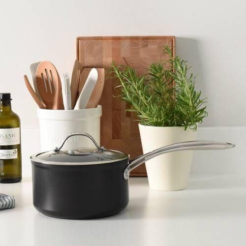 Professional Ceramic Saucepan Amp Lid 20cm 3 3l Procook